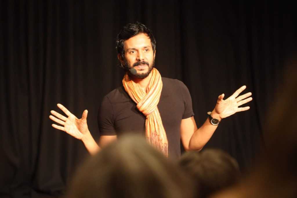 Janesh Vaidya lecture tour 2018 Sweden